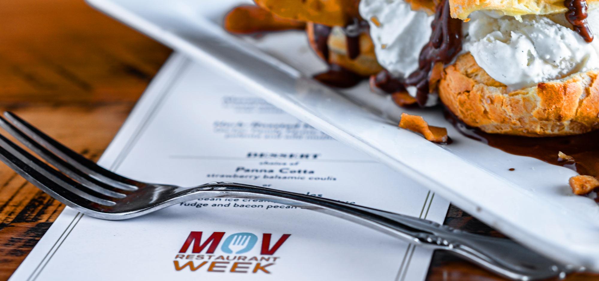MOV Restaurant Week Menu